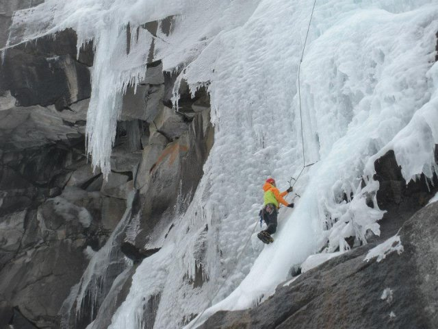 Sequioa Ice Climbing